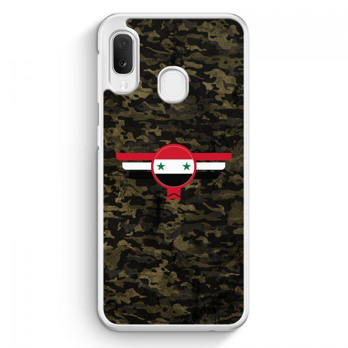 Samsung Galaxy A20e Hardcase Hülle - Syrien Syria Camouflage