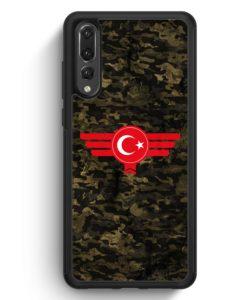 Huawei P20 Pro Hülle Silikon - Türkiye Türkei Camouflage
