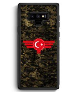 Samsung Galaxy Note 9 Hülle Silikon - Türkiye Türkei Camouflage