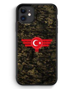 iPhone 11 Silikon Hülle - Türkiye Türkei Camouflage