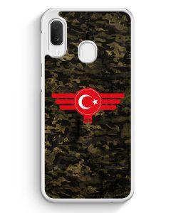 Samsung Galaxy A20e Hardcase Hülle - Türkiye Türkei Camouflage