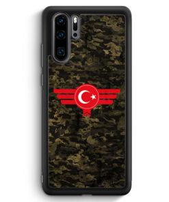 Huawei P30 Pro Silikon Hülle - Türkiye Türkei Camouflage