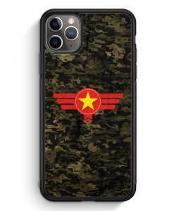 iPhone 11 Pro Silikon Hülle - Vietnam Camouflage