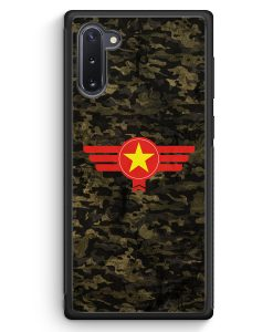 Samsung Galaxy Note 10 Silikon Hülle - Vietnam Camouflage