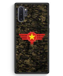 Samsung Galaxy Note 10+ Plus Silikon Hülle - Vietnam Camouflage
