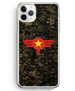 iPhone 11 Pro Hardcase Hülle - Vietnam Camouflage