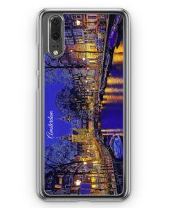 Huawei P20 Hülle Hardcase - Panorama Amsterdam
