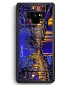 Samsung Galaxy Note 9 Hülle Silikon - Panorama Amsterdam