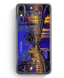 iPhone XR Hardcase Hülle - Panorama Amsterdam