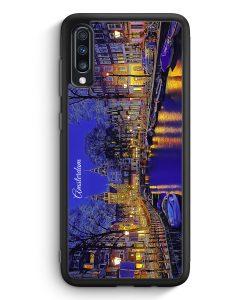 Samsung Galaxy A70 Silikon Hülle - Panorama Amsterdam