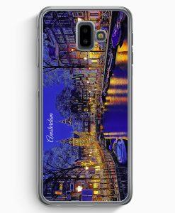 Samsung Galaxy J6+ Plus (2018) Hardcase Hülle - Panorama Amsterdam
