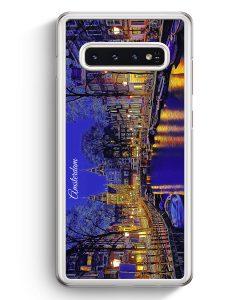 Samsung Galaxy S10+ Plus Hardcase Hülle - Panorama Amsterdam