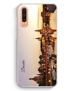 Samsung Galaxy A50 Hardcase Hülle - Panorama Dresden