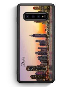 Samsung Galaxy S10e Silikon Hülle - Panorama Dubai
