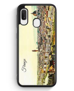 Samsung Galaxy A20e Silikon Hülle - Panorama Firenze Florenz