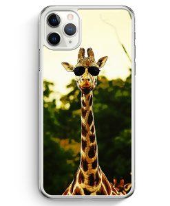 iPhone 11 Pro Hardcase Hülle - Coole Giraffe
