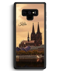 Samsung Galaxy Note 9 Hülle Silikon - Panorama Köln Kölner Dom