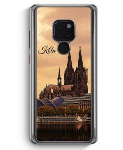 Huawei Mate 20 Hardcase Hülle - Panorama Köln Kölner Dom