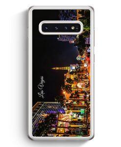 Samsung Galaxy S10+ Plus Hardcase Hülle - Panorama Las Vegas