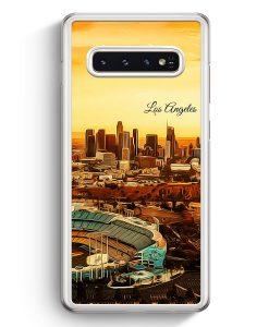 Samsung Galaxy S10+ Plus Hardcase Hülle - Panorama Los Angeles