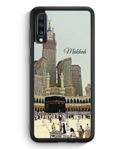 Samsung Galaxy A70 Silikon Hülle - Panorama Makkah Mekka