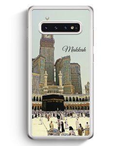 Samsung Galaxy S10+ Plus Hardcase Hülle - Panorama Makkah Mekka