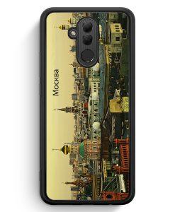 Huawei Mate 20 Lite Silikon Hülle - Panorama Moskau