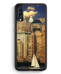 Samsung Galaxy A40 Silikon Hülle - Panorama New York