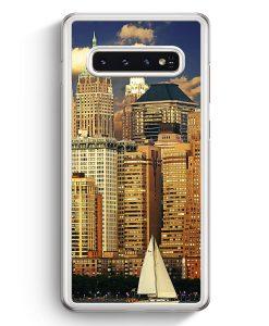 Samsung Galaxy S10+ Plus Hardcase Hülle - Panorama New York