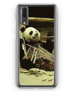 Huawei P20 Hülle Hardcase - Cooler Panda