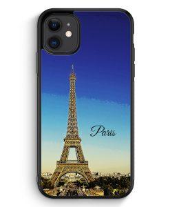 iPhone 11 Silikon Hülle - Panorama Paris Eiffelturm