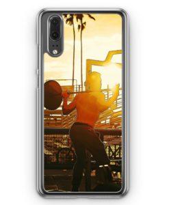 Huawei P20 Hülle Hardcase - Bodybuilder Fitness