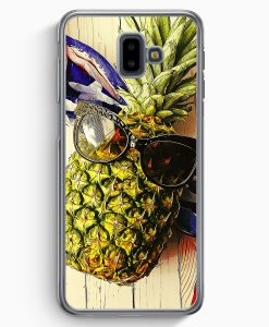 Samsung Galaxy J6+ Plus (2018) Hardcase Hülle - Coole Ananas