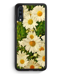 Samsung Galaxy A40 Silikon Hülle - Gänseblümchen Landschaft