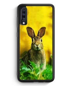Samsung Galaxy A40 Silikon Hülle - Hase