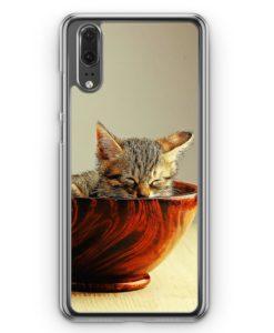 Huawei P20 Hülle Hardcase - Katzenbaby