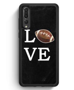 Huawei P20 Pro Hülle Silikon - Love American Football