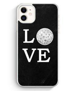 iPhone 11 Hardcase Hülle - Love Golf