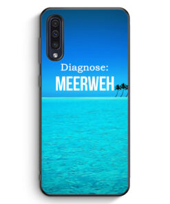 Samsung Galaxy A50 Silikon Hülle - Diagnose Meerweh