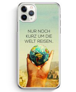 iPhone 11 Pro Hardcase Hülle - Nur Noch Kurz Um Die Welt Reisen