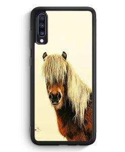 Samsung Galaxy A40 Silikon Hülle - Schönes Pferd