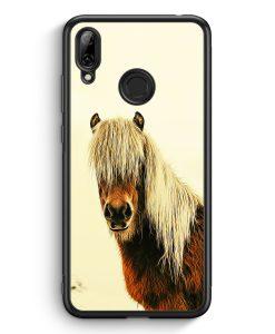 Huawei Y7 (2019) Silikon Hülle - Schönes Pferd