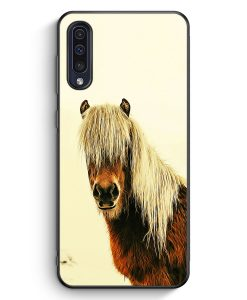 Samsung Galaxy A50 Silikon Hülle - Schönes Pferd