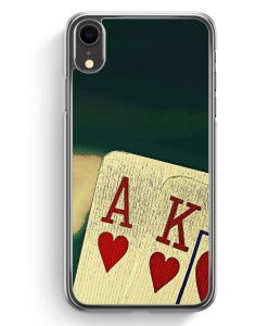 iPhone XR Hardcase Hülle - Poker Karten