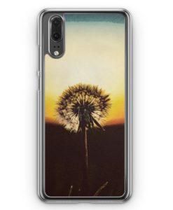 Huawei P20 Hülle Hardcase - Pusteblume