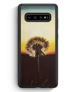Samsung Galaxy S10e Silikon Hülle - Pusteblume
