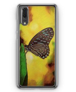 Huawei P20 Hülle Hardcase - Schmetterling