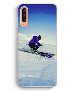 Samsung Galaxy A50 Hardcase Hülle - Ski