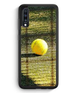 Samsung Galaxy A40 Silikon Hülle - Tennis