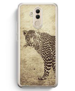 Huawei Mate 20 Lite Hardcase Hülle - Vintage Leopard
